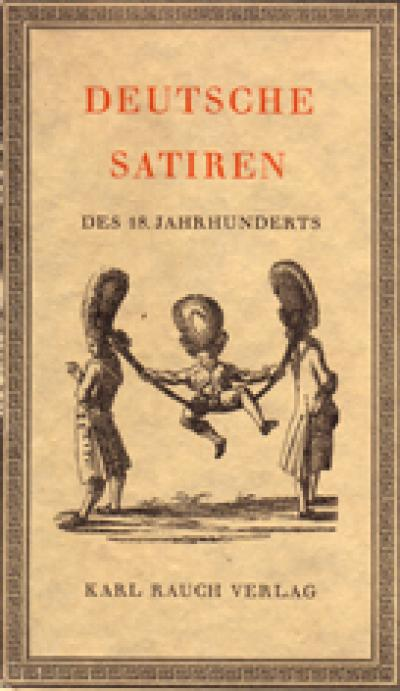 German satires of the 18th century